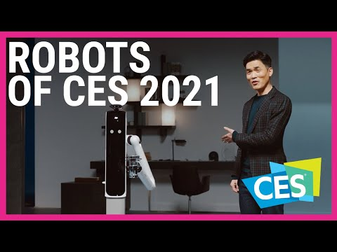 Most exciting robots of CES 2021