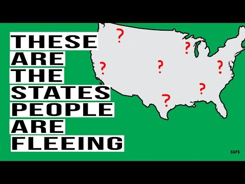 These Are the Cities and States People Are FLEEING! Here's Why This Is Happening.