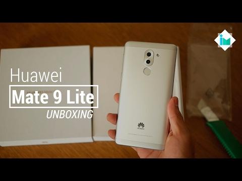 Huawei Mate 9 Lite - Unboxing en español