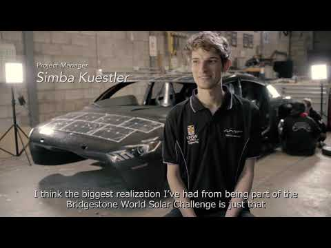 Bridgestone World Solar Challenge Episode1: Team Introduction - University of New South Wales