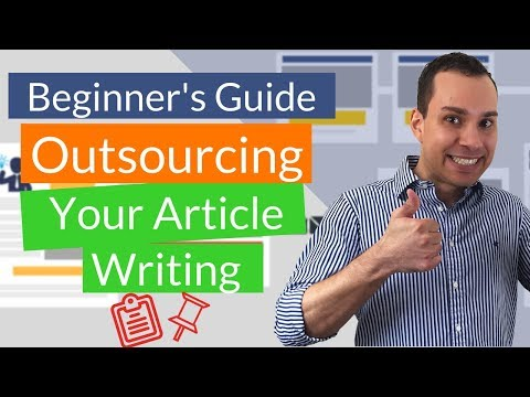 How To Outsource Content Creation: Article Writing For Digital Agencies & Freelancers