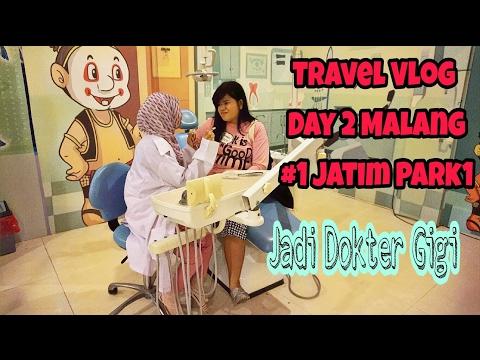 Travel Vlog Day 2 #1 Malang | Jadi Dokter Gigi | Jatim Park 1 | Museum Tubuh