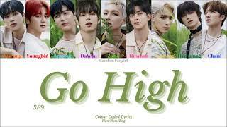 SF9 (에스에프나인) - Go High (미친 것처럼) [Colour Coded Lyrics Han/Rom…
