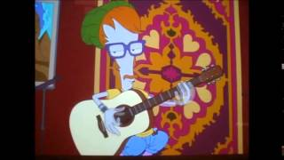 American Dad Roger Plays Guitar