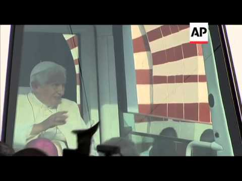 Pope in western Africa to outline church's future