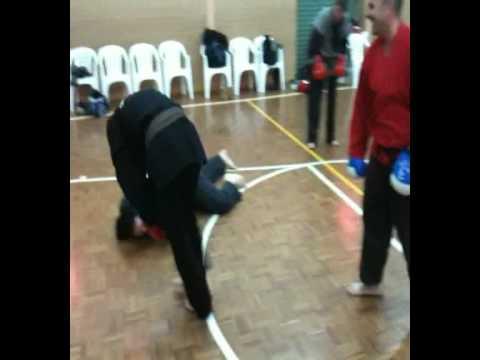 Golden Knights Martial Arts: Training - Jordan's Groundwork