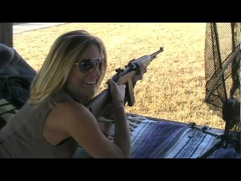Stacy Firing Full Auto M2 Carbine