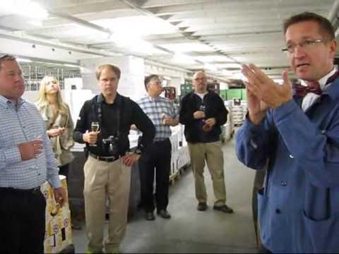 BASF wine cellar wecome