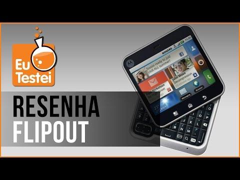 Flipout MB511 Motorola Smartphone - Vídeo Resenha EuTestei Brasil
