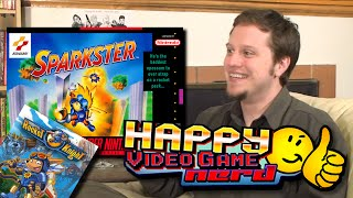 Happy Video Game Nerd: Sparkster / Rocket Knight (Part 2) (SNES/XBLA/PS3)