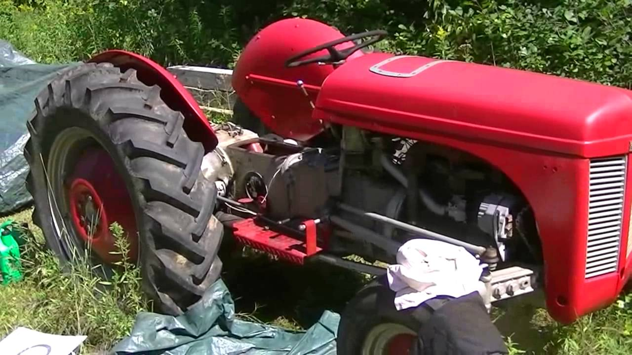 Ferguson TEA 20 hydraulics