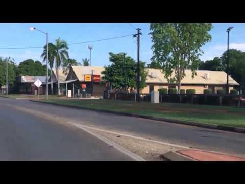 Katherine Town on Christmas Day ( Northern Territory Australia )