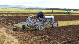 Ferguson Brown A.2016 Scottish Ploughing Championships.North Berwick