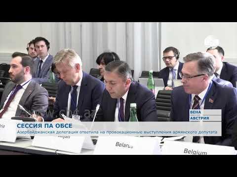 Азербайджанская делегация ответила на провокационное выступление армянского депутата на ПА ОБСЕ