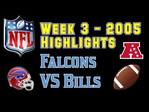 NFL 2005 Week 3 Falcons VS Bills