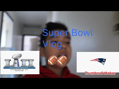 Patriots Game vlog