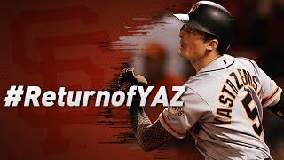 Sfgiants @ Red Sox | Yaz Returns To Fenway