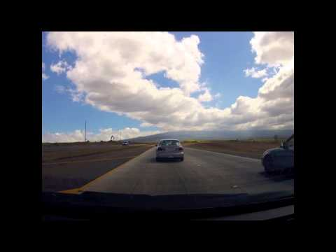 Time Lapse - Driving Kahului to Kula - Maui, Hawaii