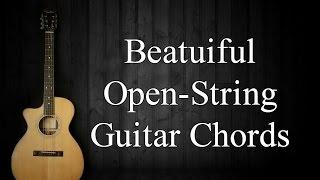 Beautiful Open String Guitar Chords