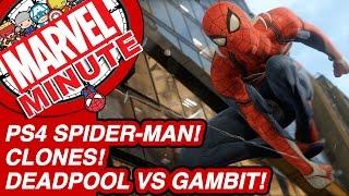 PS4 Spider-Man! Clones! Deadpool V Gambit! - Marvel Minute 2016