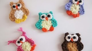 Маленький совёнок Small owlet Crochet