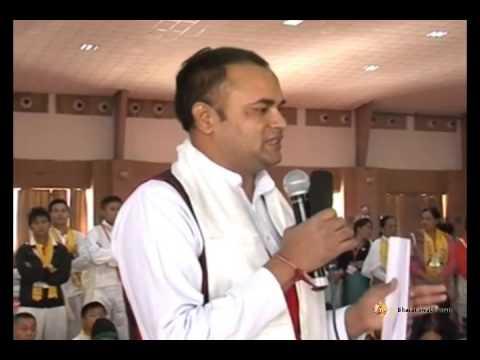 Now Twang Manipur got enlightened by Swami Ramdev's Yoga & Ayurveda   Bhai Rakesh Ji