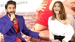 Full Uncut - Befikre You And Me FUNNY Song Launch - Ranveer Singh, Vaani Kapoor