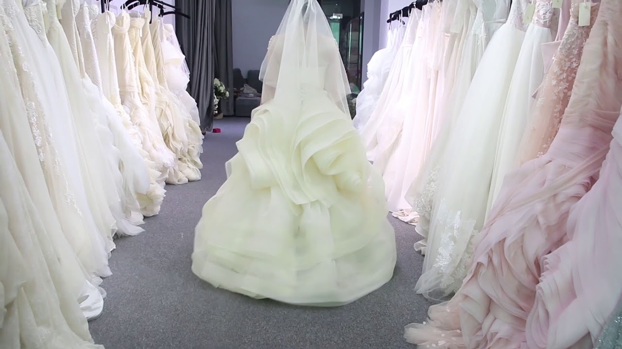 d464db969c katherine gown inspired by Verawang - YouTube