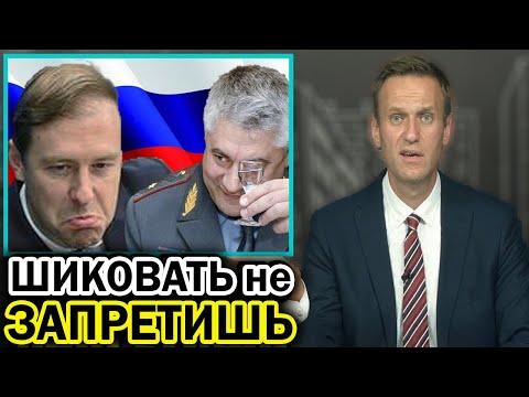 Как отдыхают чиновники. Н - находчивость. Предложение Колокольцева. Навальный