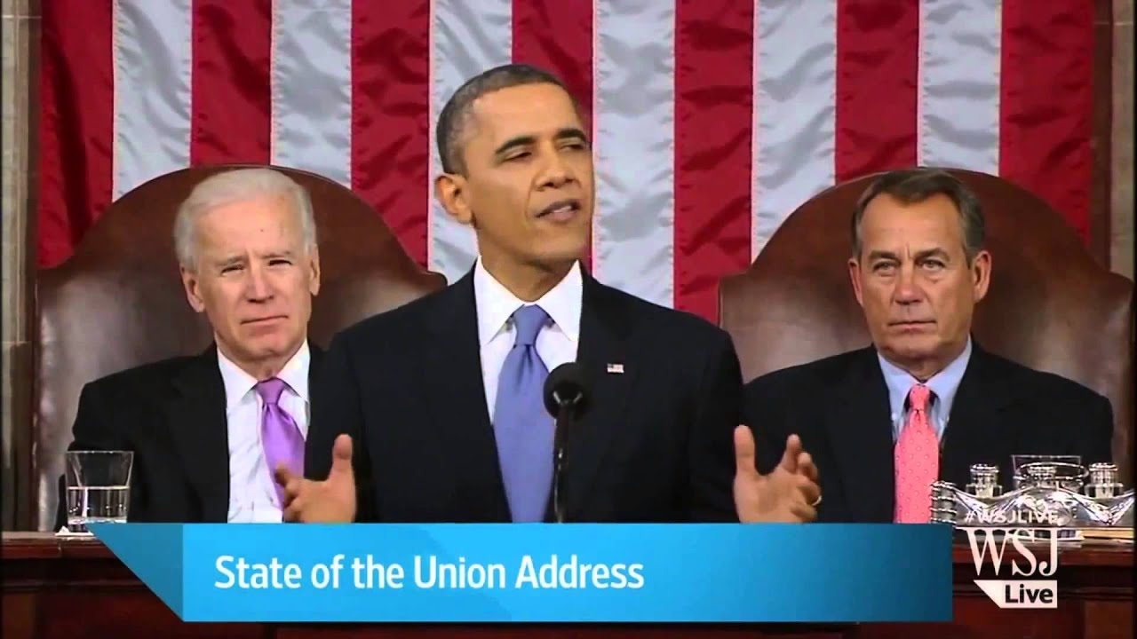 Joe Biden State Of The Union 2013