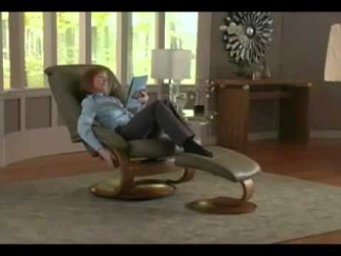 Oslo Collection By Mac Motion Chairs   Reclining Chair   201Main.com    YouTube