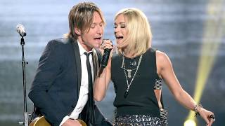 "Keith Urban, Carrie Underwood ""The Fighter"" Overcame Obstacles"