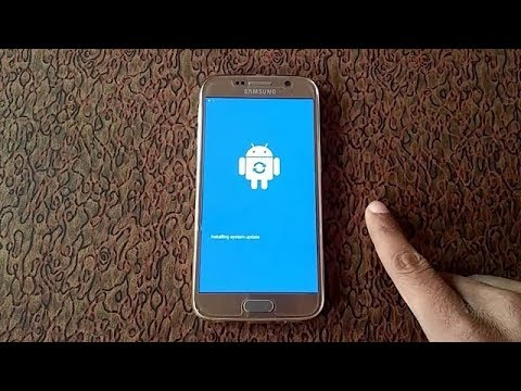 Samsung Galaxy S6 Software Update