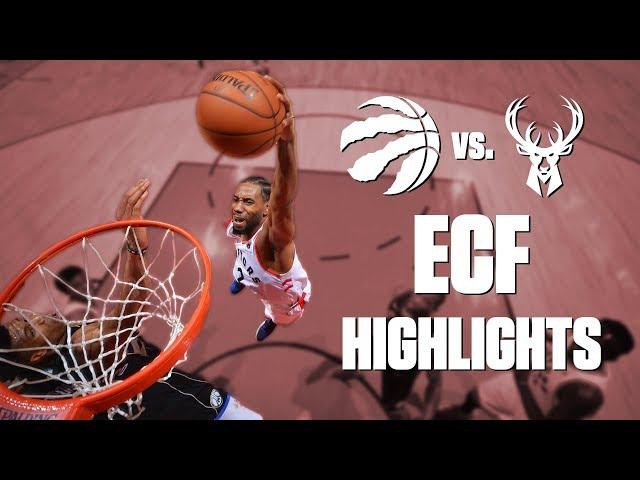Raptors vs. Bucks Eastern Conference finals mixtape   2019 NBA Playoff Highlights