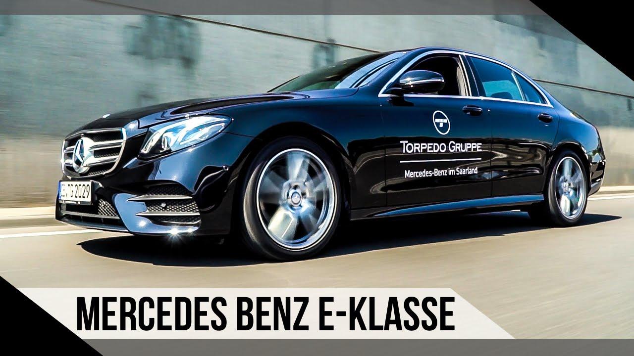 Mercedes Benz E Klasse 2016 Test Review German Motorwoche