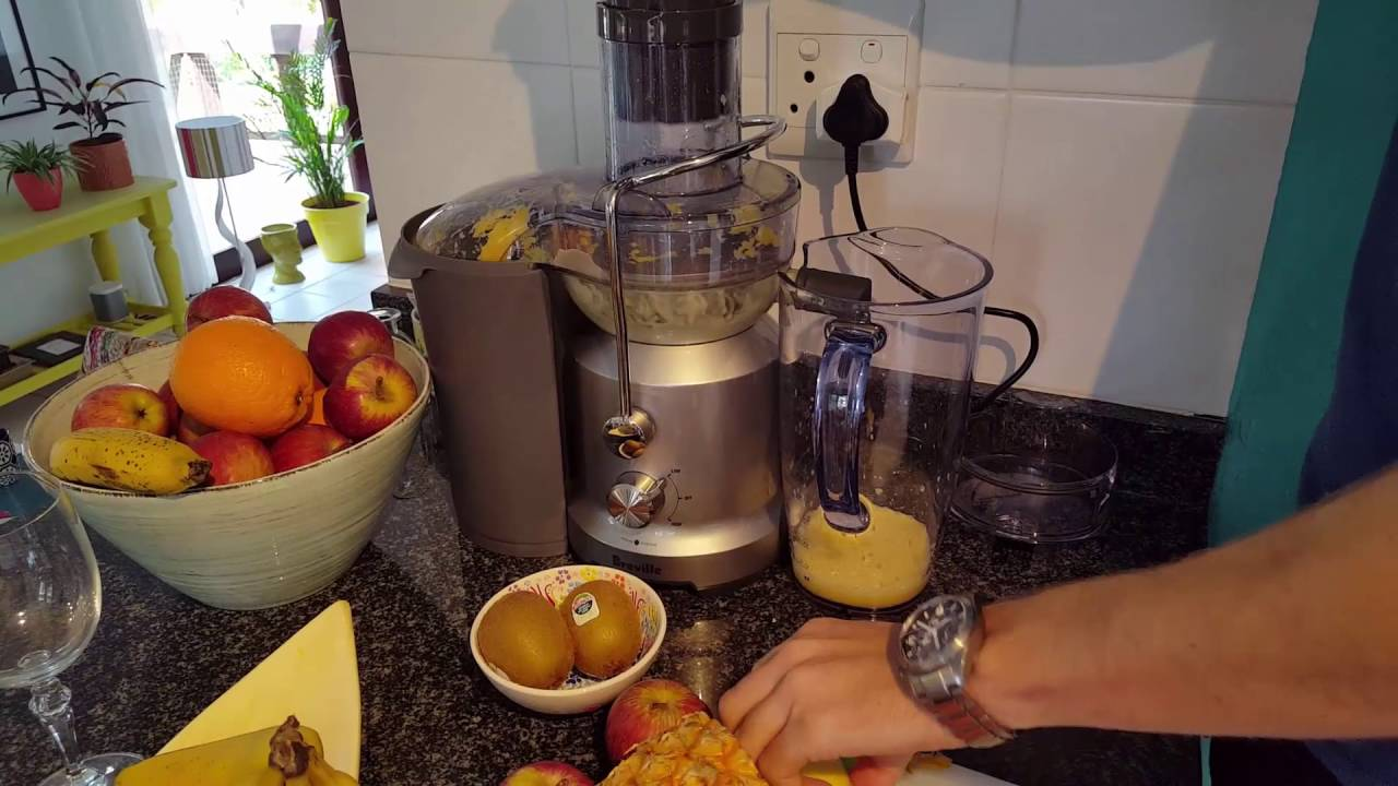 testing the breville juice fountain cold - Breville Juicer