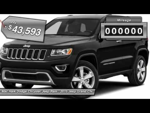 Mac Haik Dodge Temple Tx >> 2015 Jeep Grand Cherokee Temple TX FC948927 - YouTube