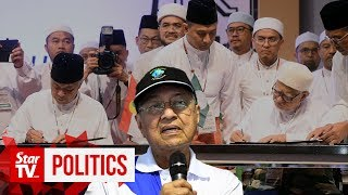 Dr M: I can't understand how PAS can work with 'kafir' Umno