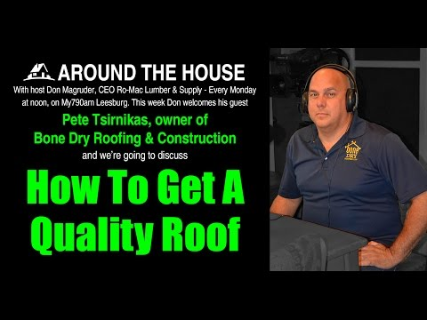 INTERVIEW with Pete Tsirnikas of Bone Dry Roofing