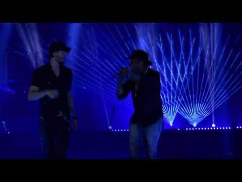 Enrique Iglesias with Descemer Bueno and Rotem Cohen  - 'Subeme La Radio' Live in Tel Aviv