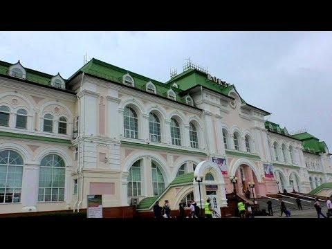 Из окна поезда Хабаровск.Биробиджан.Белогорск