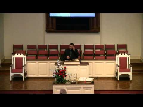 """1/11/15 - """"Zechariah: Crucial Questions For The New Year, Part Two"""" (Luke 1:5-7) Dr Donnie Brannen"""