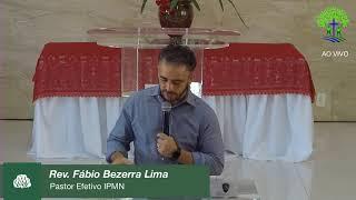 LIVE - IPMN - EBD  GÊNESIS - TEMA : CUIDADO - DEUS TRABALHANDO. Pb. EDGARD