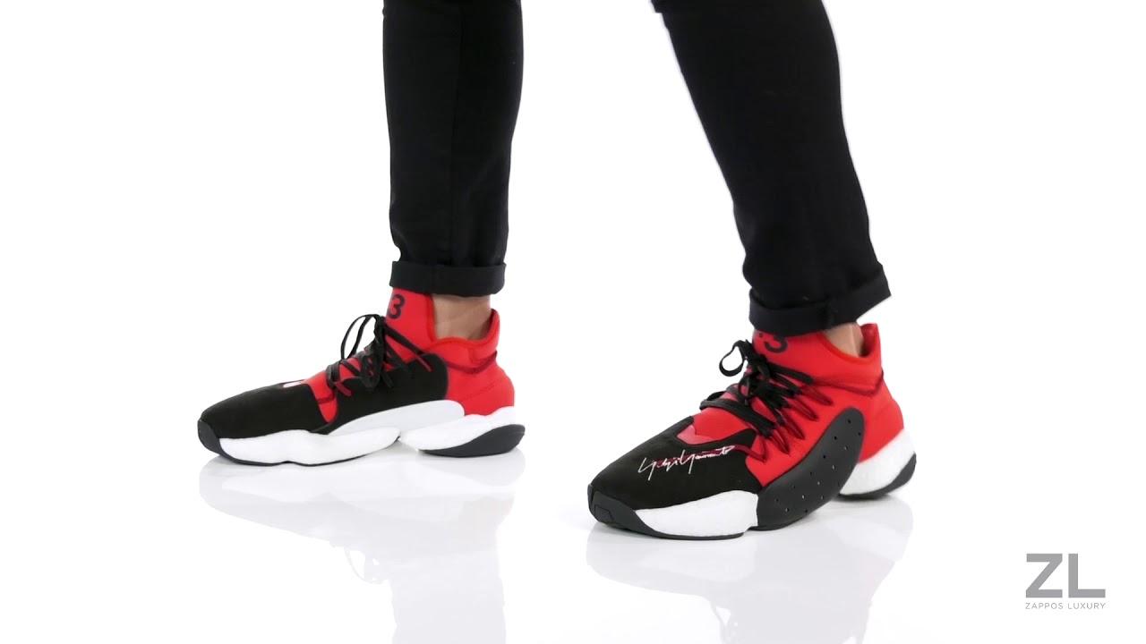 a1c21f97f3856 adidas Y-3 by Yohji Yamamoto Y-3 BYW BBALL SKU  9146006 - YouTube