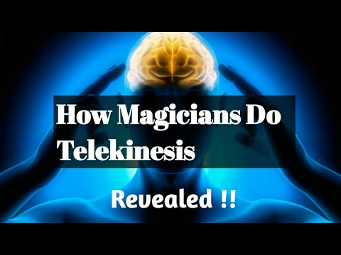 How to do telekinesis | Fast and easy | For beginners