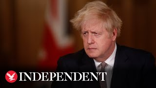 Boris Johnson challenged on coronavirus Christmas travel plans
