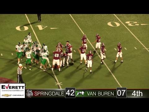 Springdale Bulldog Football | Van Buren vs SHS