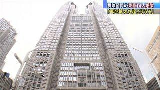 東京14人感染9人死亡「再び拡大も起こりうる」(20/05/25)