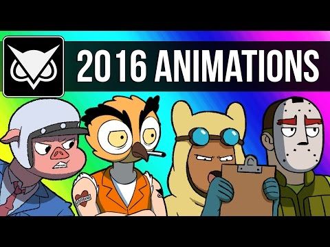 Thumbnail: VanossGaming Animated 2016 Compilation (Moments from Gmod, GTA 5, Cod Zombies, & More!)