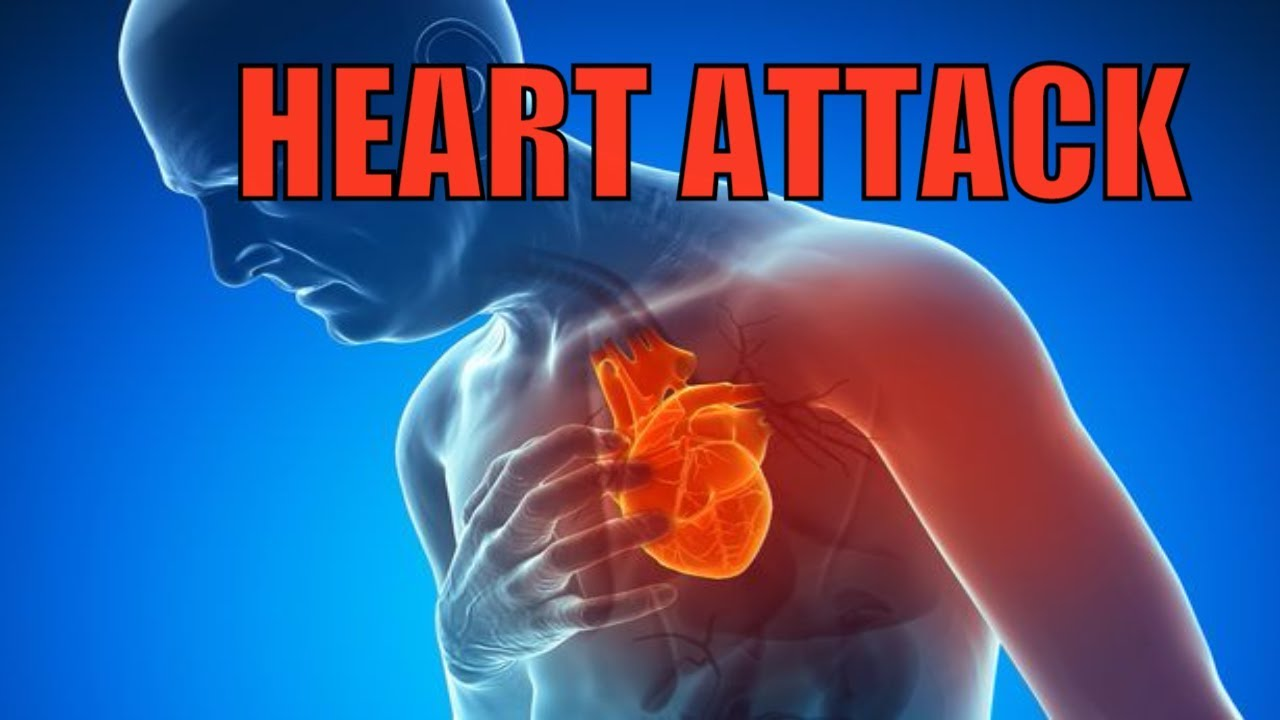 HEART ATTACK , WHAT HAPPENS TO YOUR BODY DURING A HEART ATTACK - YouTube